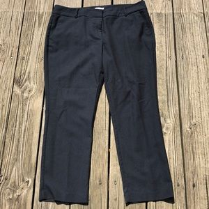 New York & Company 14 pants black with white